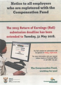 Return of Earnings